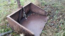 4ft linkbox heavy duty steel suitable for we tractor Cookstown