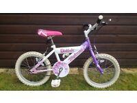 Girls Raleigh Sunbeam Flutter Bike