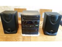 Philips FW332 CD, Radio, Double Cassette Mini System