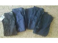 "Mens 38"" waist Workwear Work Trousers x4"