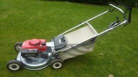 Honda self propelled mower, alloy deck, blade clutch built to last