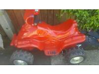 kids quad bike new battery fitted