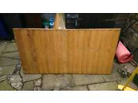 6ft wide 3ft tall fence panel