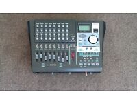 Tascam Dp01 FX CD Eight Track Recorder