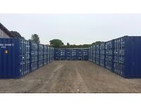 Container Storage Available, Secure Site.