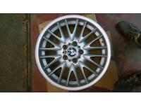 "Genuine Bmw 18"" Mv1 ( Style 72 ) Rear 8.5J Alloy Wheel"