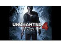 Uncharted 4 game PS4 Brand new