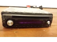 KENWOOD KDC 237 CAR AUDIO STEREO CD AUX RADIO UNTESTED