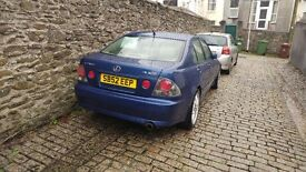 LEXUS IS200 Sport, 111,000 miles, just serviced.