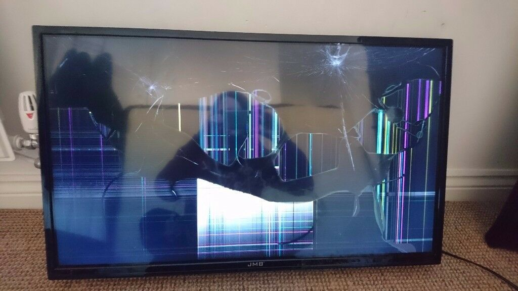 Smashed screen