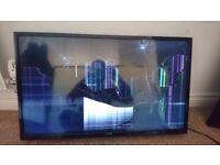 Smashed screen