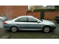 Left hand drive Spare or repair Peugeot 607
