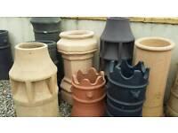 Chimney pots NEW 2nd hand
