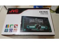 jvc car stereo nearly new