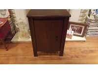 Retro Style Bedside Table Cabinet Side Table Bathroom Cabinet