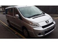 Peugeot expert Birmingham taxi plated