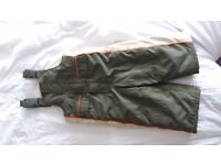 Mothercare salopettes/padded waterproof trousers age 2-3