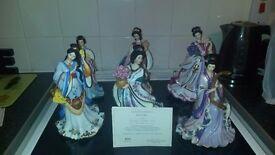 Danbury mint chinese princesses by lena liu