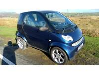Smart car for two, low miles. New mot, fsh