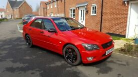 Is200 Red'n'Black unfinished project car