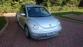 Volkswagen Beetle 1.6 3dr 2006 plate low millage