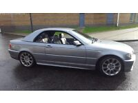 ***BMW 318i M3 Sport Convertible with Hard Top***