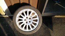 VW/AUDI/SEAT/SKODA WINTER WHEELS AND TYRES - BBS, LASSA SNOWAYS 225/45/17