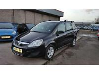 2008 Vauxhall zafira 7 seats 1.6 petrol 12 months mot