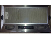 Cooker hood, inset, twin lights, £20, SR4 area. Excellent condition, collection only.