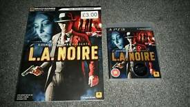 L.A.Noire PS3 Game and Guide
