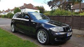 BMW 1 Series | 123D | M-Sport | 205BHP | 40.3MPG | Black | 64000