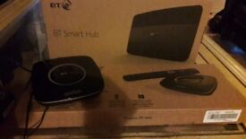 Bt smart hub and ×2 youview boxs