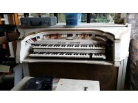 Baldwin HT2 Vintage Electronic Organ, working but needs attention.