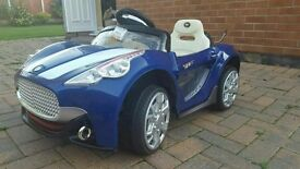 ** NEW ** MAPLINS KIDS / CHILDRENS MASERATI ELECTRIC RIDE ON CAR TOY + CHARGER