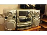 Goodmans 3cd changer and double cassate player