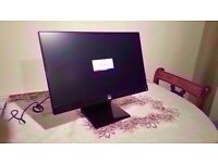 "HP 22VX 21.5"" Full HD display / 1080p display led backlit monitor"