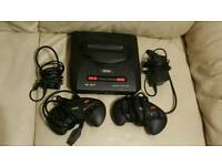 Segamegadrive 1 and 2 console bundle