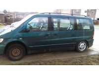 mercedes Benz V280 Ambiente V Class Automatic w638 MK1 Vito (spares or repairs)
