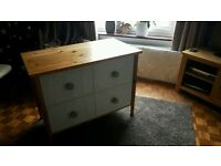 4 draw large chest of draws