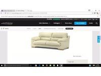 Sofology 3 seater sofa for sale.