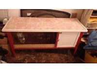 Rabbit hutch plus extras