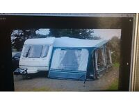 compass refection 430/5 berth caravan and full awning . cris reg great condition 2500 ono