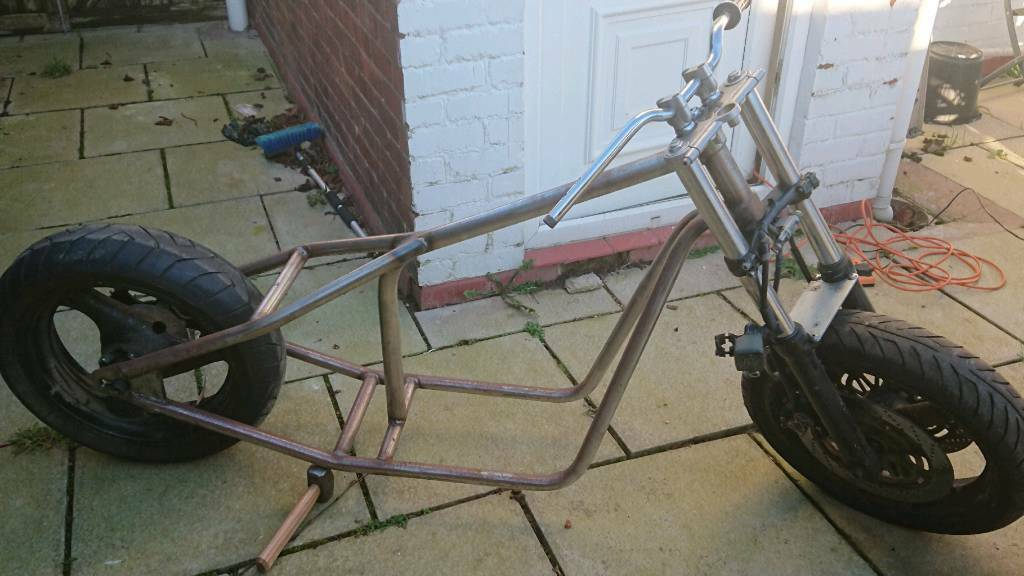 Hardtail chopper bobber project chop frame, rolling chassis. | in ...