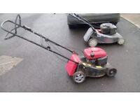 Self Drive Mountfield petrol lawnmower