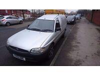 2002 escort van silver. Tow bar 10months mot..