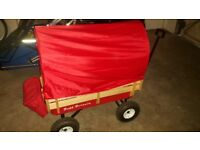Tuff terrain wagon with canopy and bag