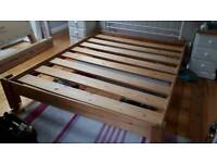 Old Pine King size Bed Base