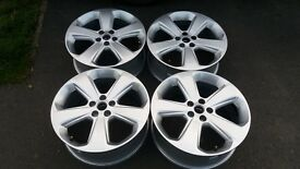 GENUINE VAUXHALL MOKKA GM ASTRA J ALLOY WHEELS 5 X 105 IMMACULATE UNMARKED