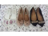 Size 6 shoe bundle-£1 for all three pairs!!!