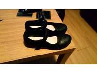 Girls School shoes size 3